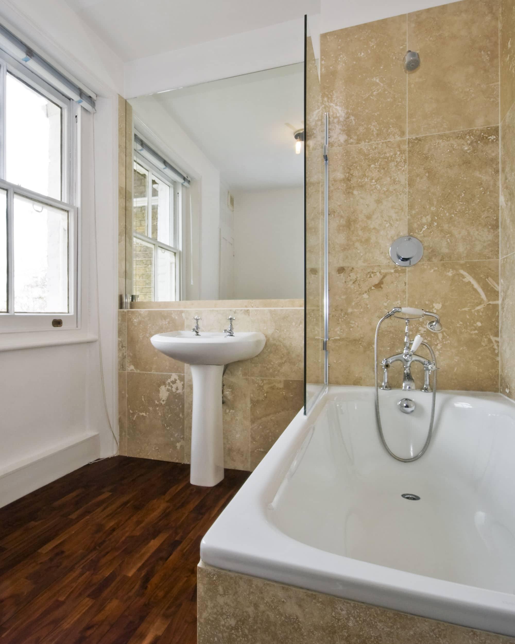 kurkvloeren badkamer